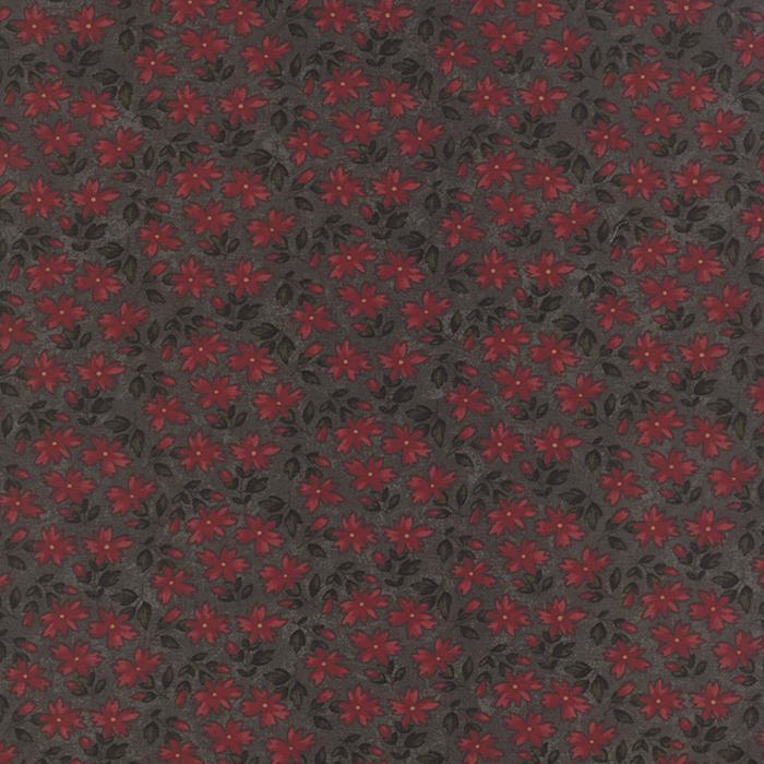 Moda Prairie Cactus Green red floral 9511 15