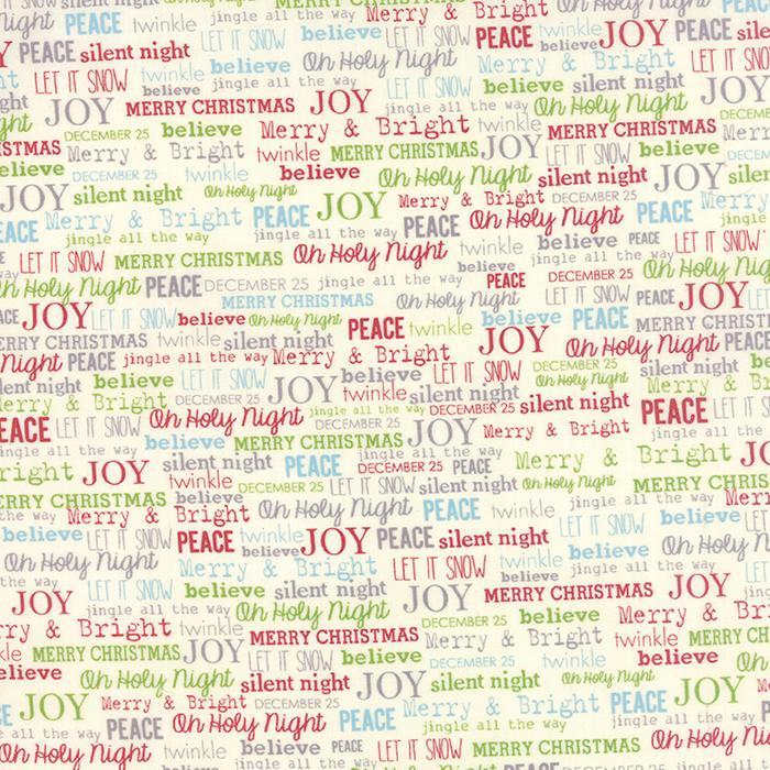 The Cookie Exchange Christmas Joy Multi Yardage