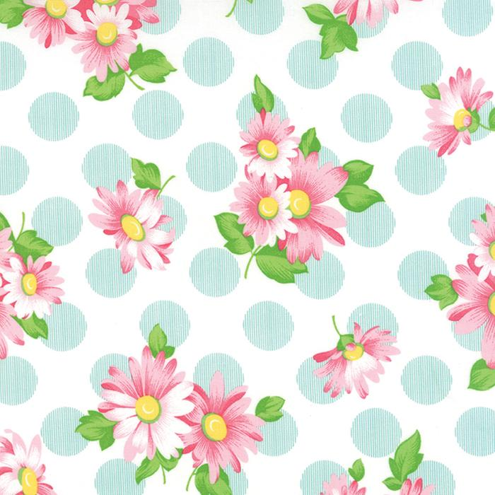 Sew & Sew Flowers and Polka Dots