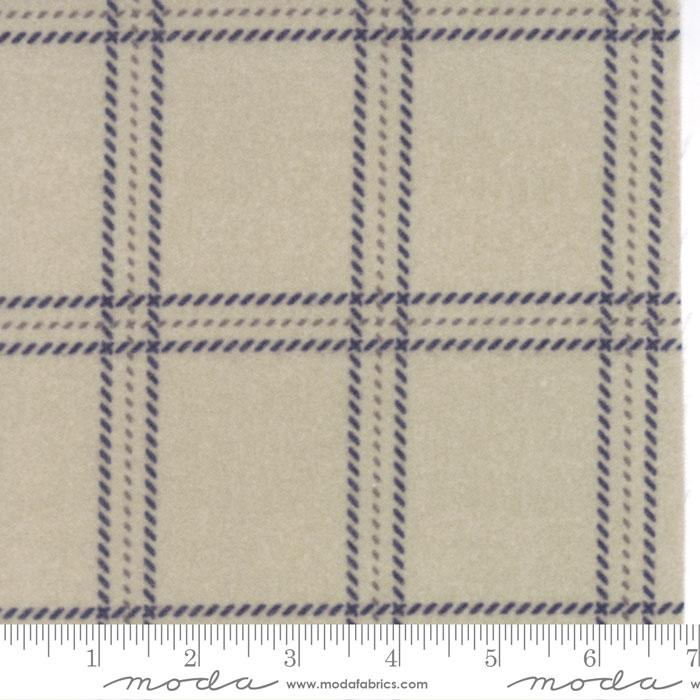 Wool & Needle Flannels IV Barn Board #1190 15F