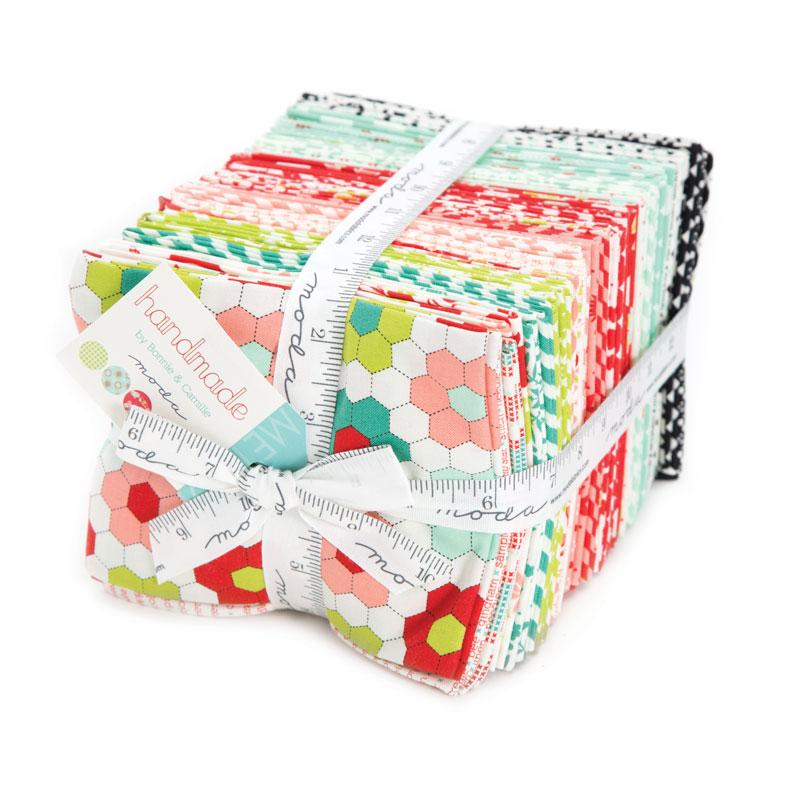 Handmade Fat Quarter Bundle by Bonnie & Camille for Moda 55140AB
