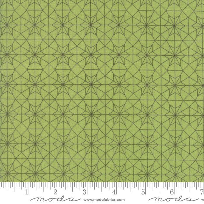 Olives Flower Market Green (F4663)