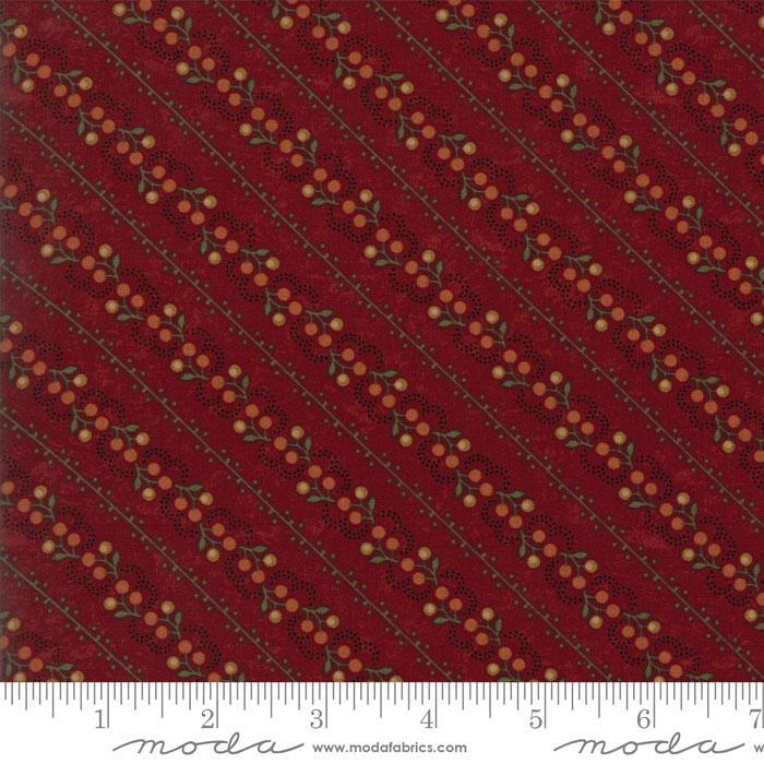Oak Haven Cotton Vine Red 9523 13