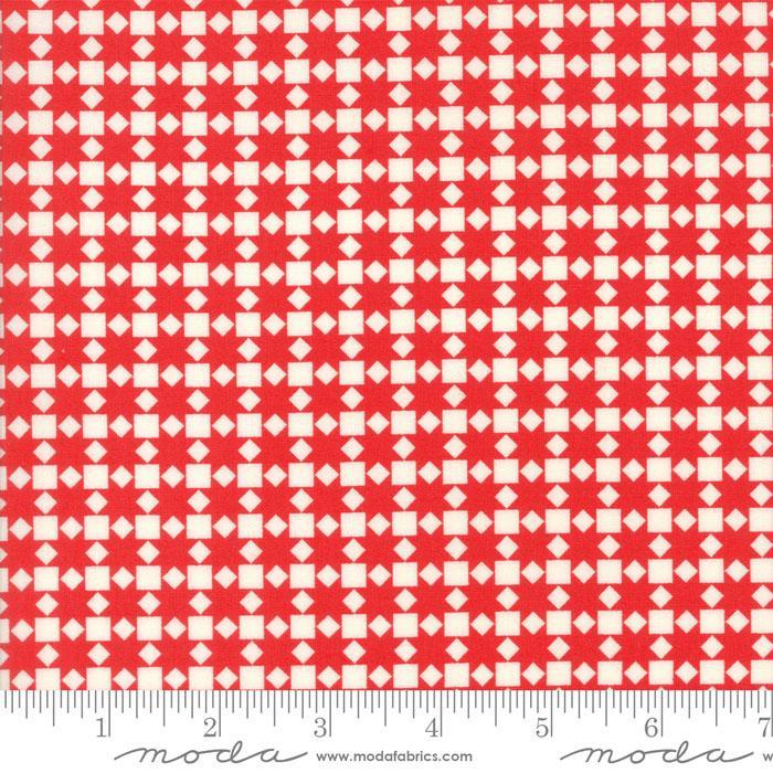 Handmade Red Squares