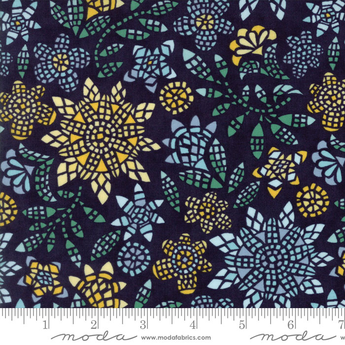 Grand Canal Dark Blue w/mosaic