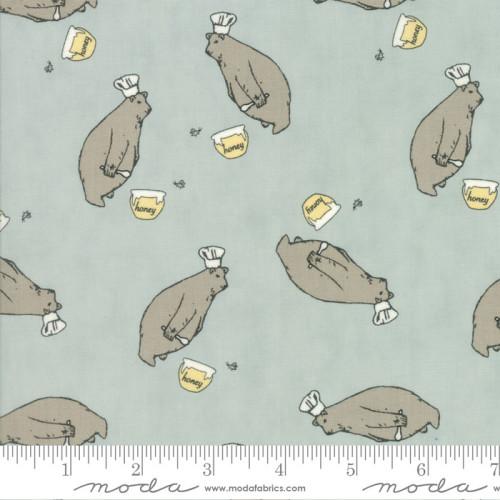 Darling Little Dickens Honey Bear - Aqua
