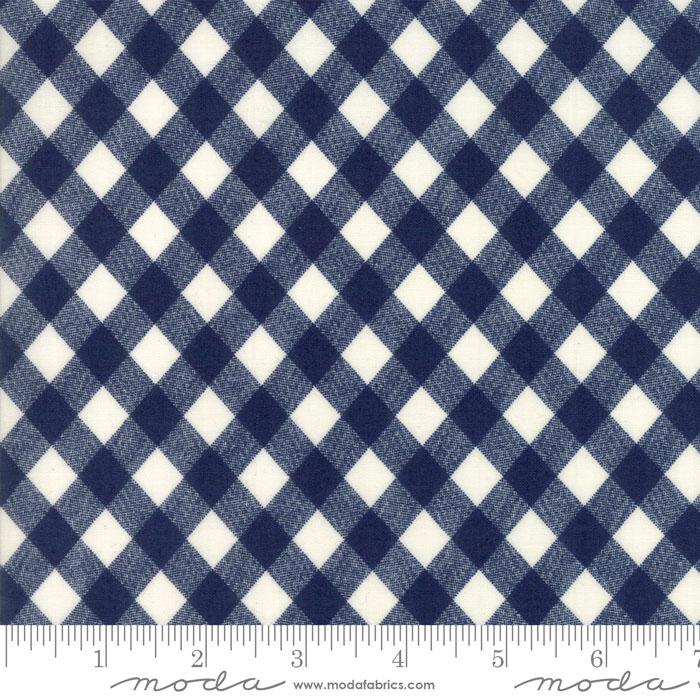Q - Moda - Bonnie & Camille Basics - Navy Checkered