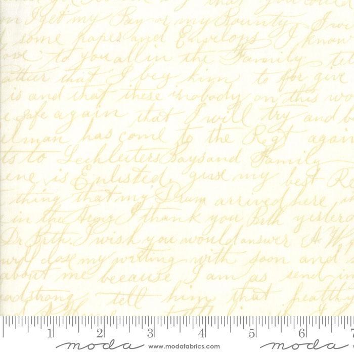 Item#10148 - Poetry Prints Porcelain - Moda - 3 Sisters - Bolt#10148