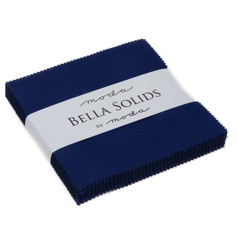 Bella Solids Charm Pack Royal