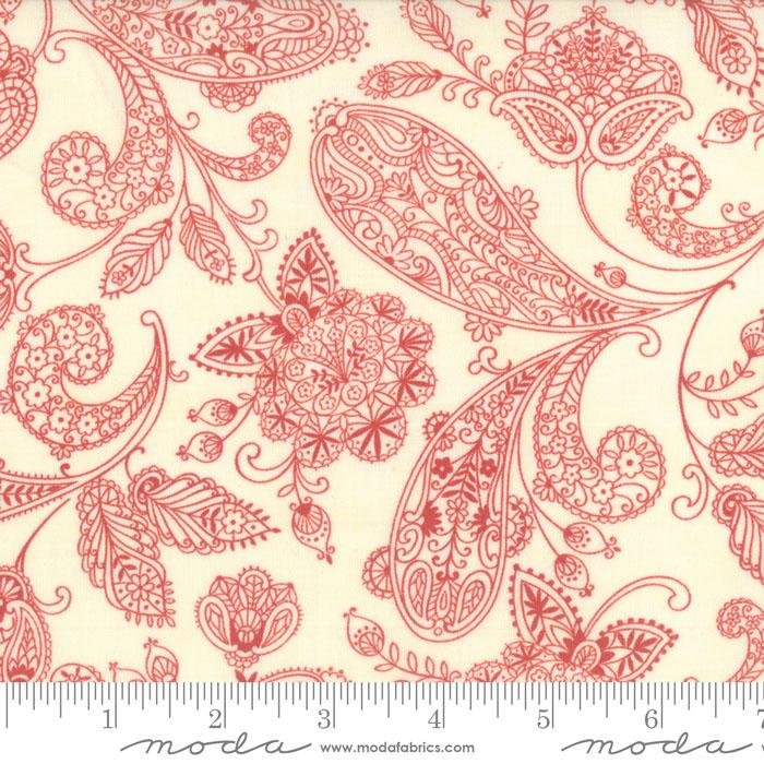 Snowfall Prints Snow Poinsettia
