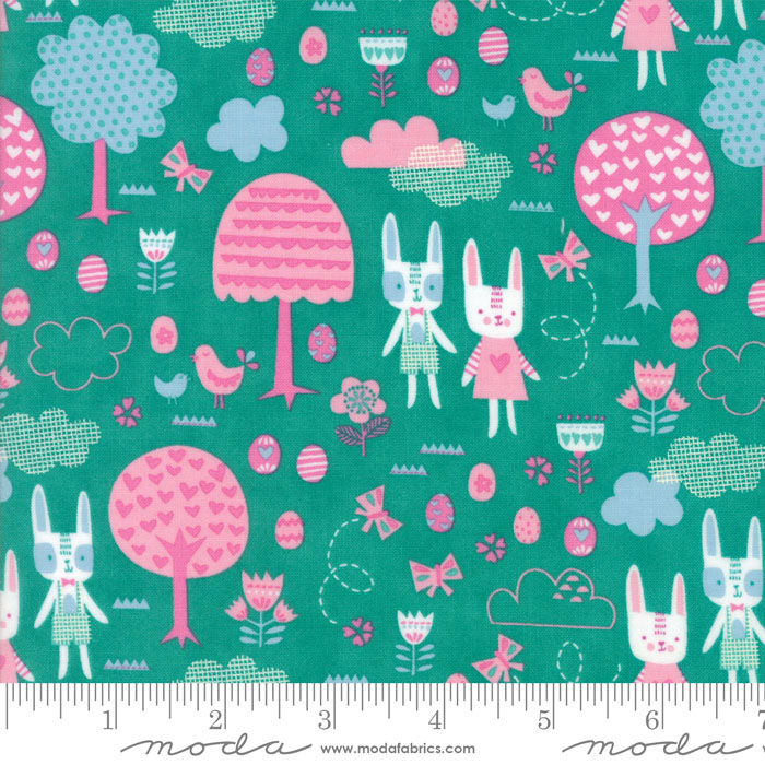 Spring Bunny Fun Jade