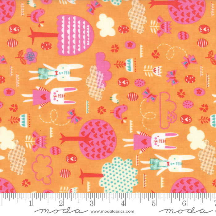 Spring Bunny Fun Apricot #20543 18