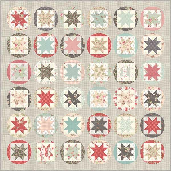 Fabric Moda Poetry Prints Kit