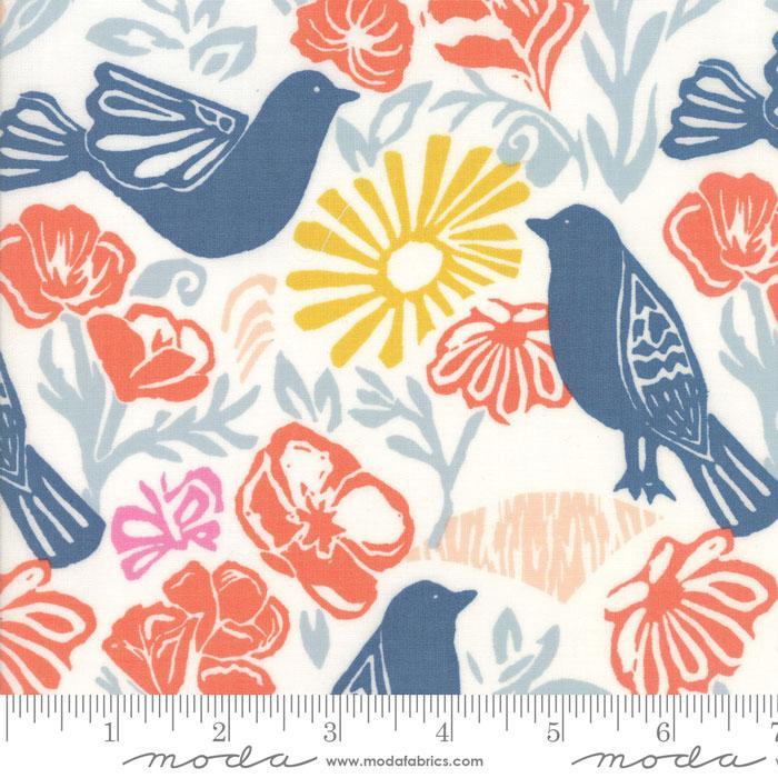 Early Bird  - Kate Spain - Daybreak - Denim - 27260 11
