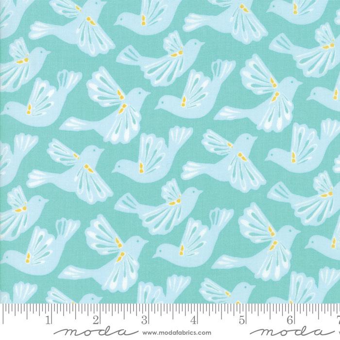 Early Bird - Kate Spain - Flock - Aqua - 27261 17