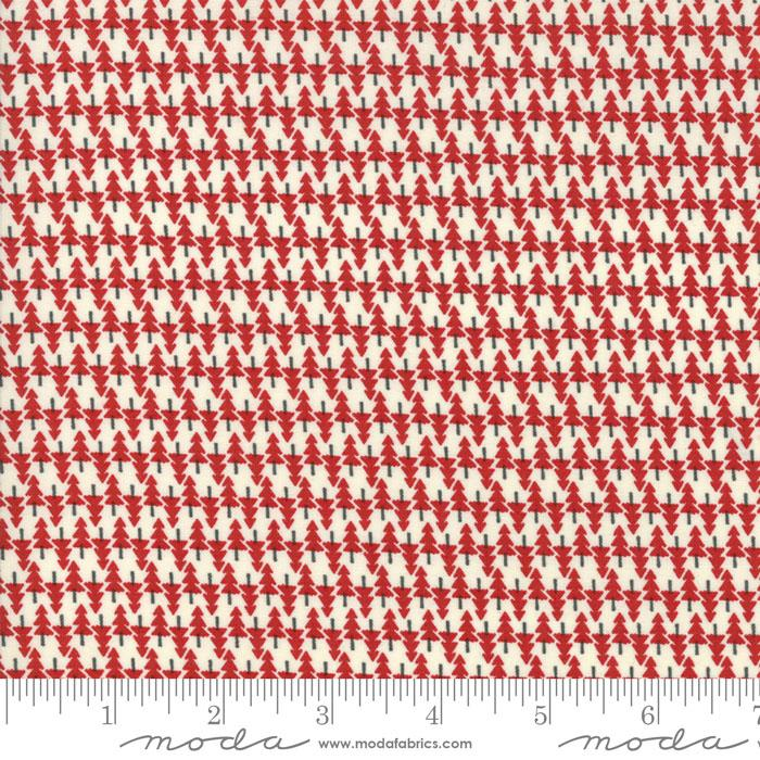 Item#10510 - Hometown Christmas Red - Moda - Sweetwater - Bolt# 10510