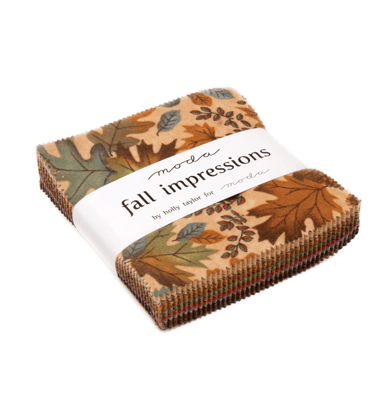 Fall Impressions Flannel Charm Pack