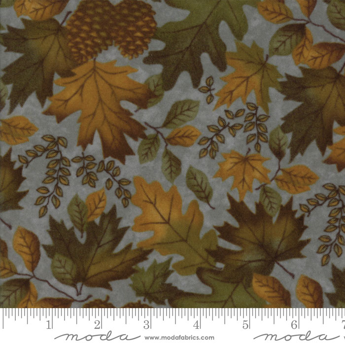 Fall Impressions Flannel - Juniper