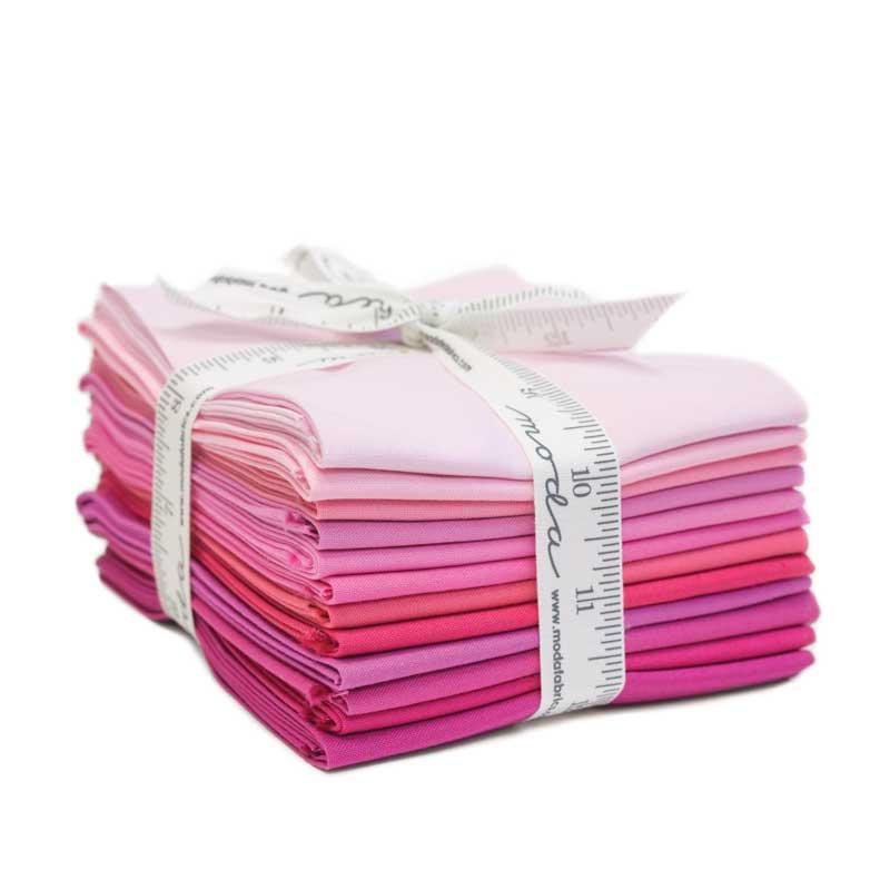 Bella Solids Fat Quarters - Pink