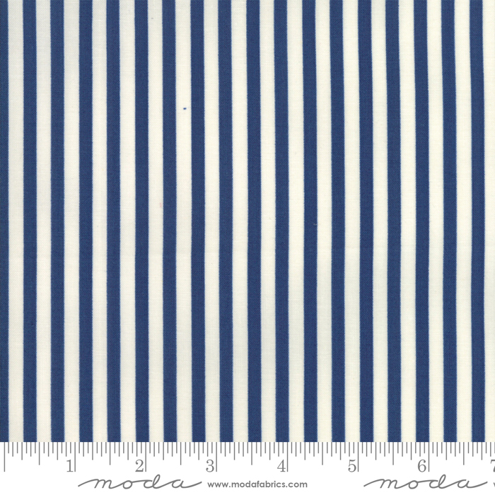 Essentially Yours Liberty Blue by Moda 8652 75