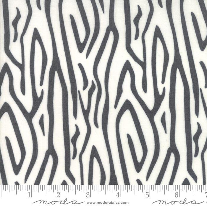 Moda Savannah Zebra Stripe Charcoal 48222 15
