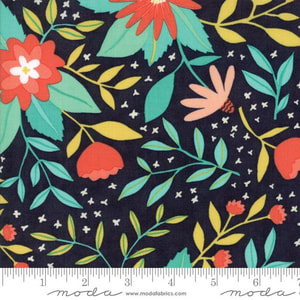 Floral in Midnight - FQ