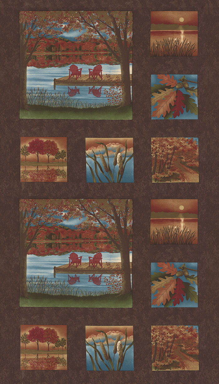 Autumn Reflections - Brown