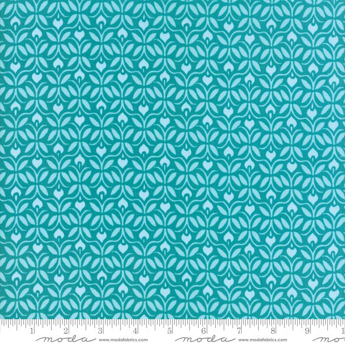 Item#10654.A - Voyage Capri Turquoise - Moda - Kate Spain - Bolt#10654.A
