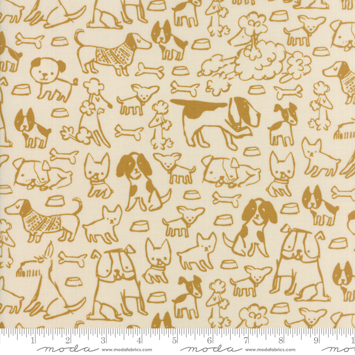 Woof Woof Meow Gold Natural 20563-12