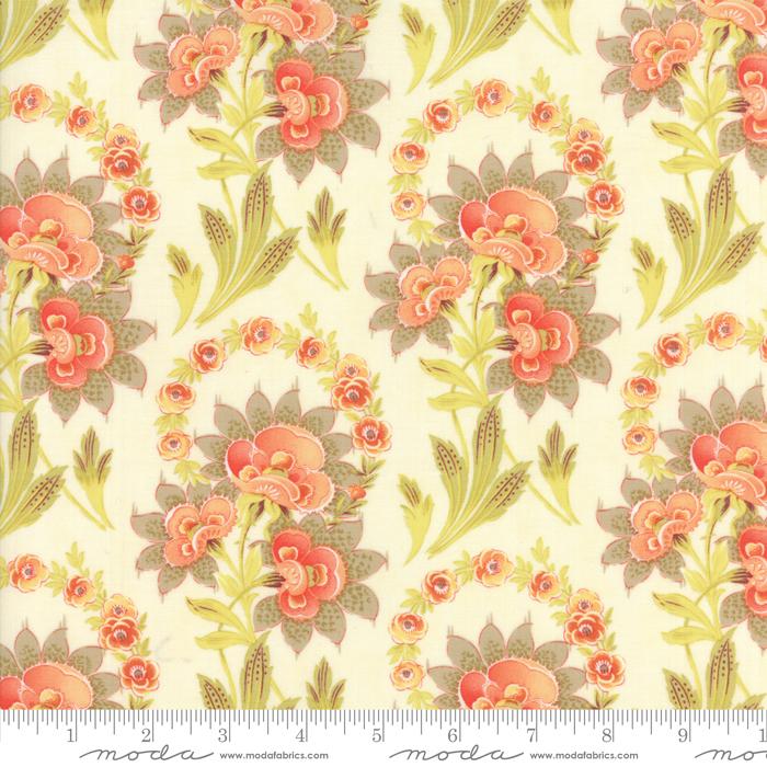 Item#10476.F - Hazel & Plum (Cream) - Moda - Fig Tree Quilts - Bolt# 10476.F