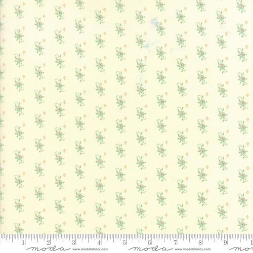 Item#10476.U - Hazel & Plum (Cream & Pond) - Moda - Fig Tree Quilts - Bolt# 10476.U