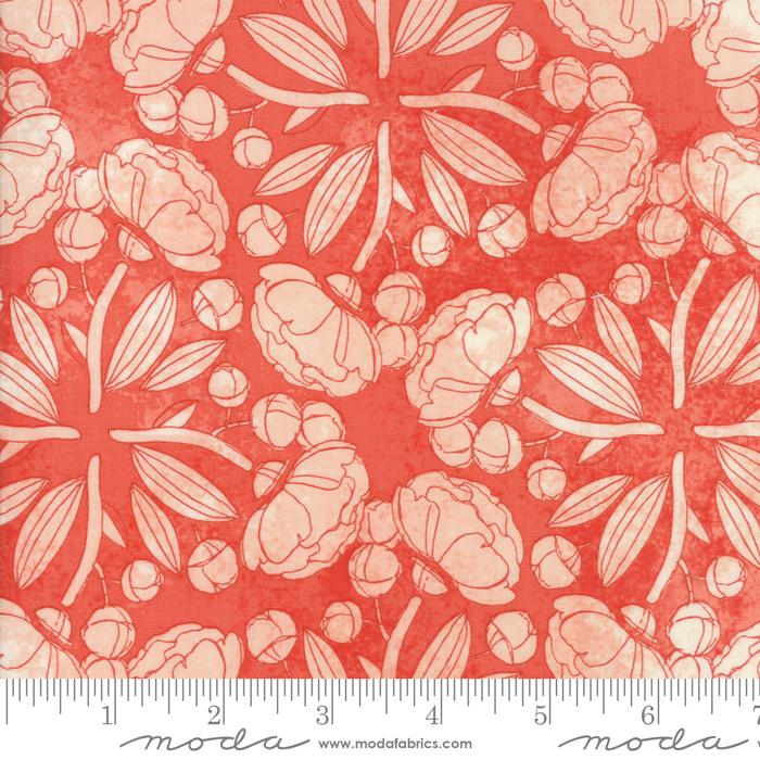 Blushing Peonies - Floral Pinwheels Petal