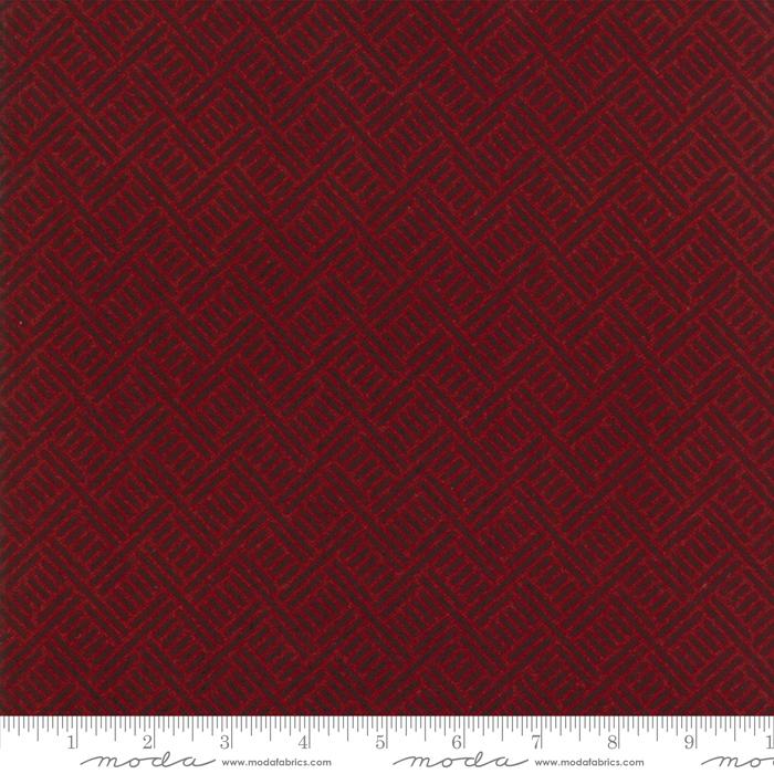 Wool & Needle Flannel V Ruby