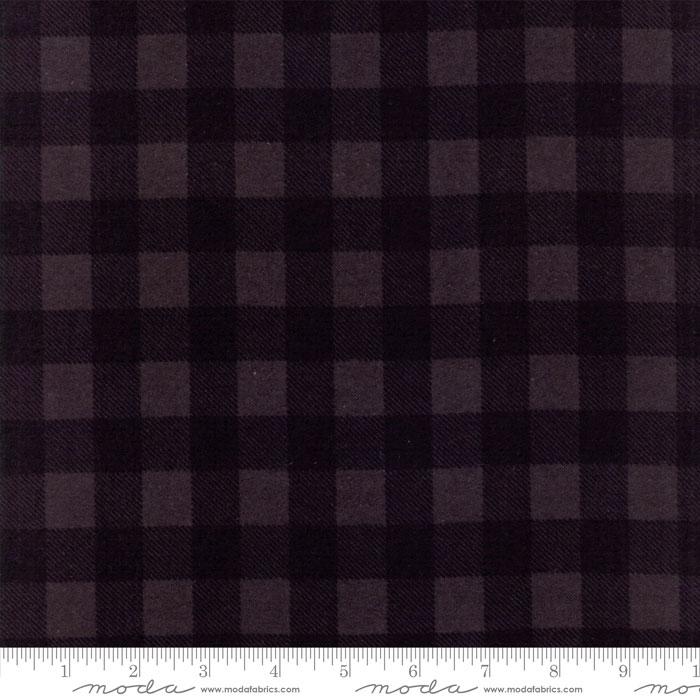 WOOL NEEDLE V FLANNEL BLACKBIRD (BLACK TONAL SQUARES) 1221-12F
