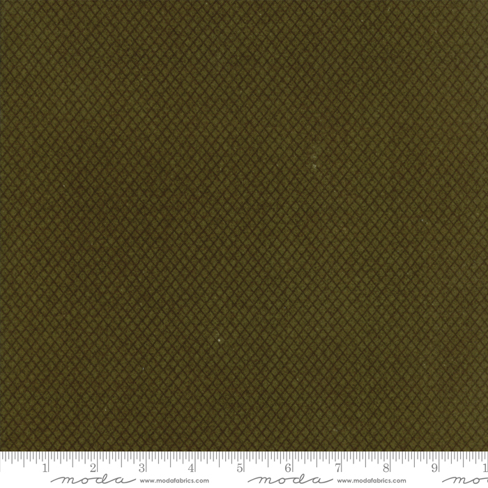 Wool Needle V Flannels Sage Green