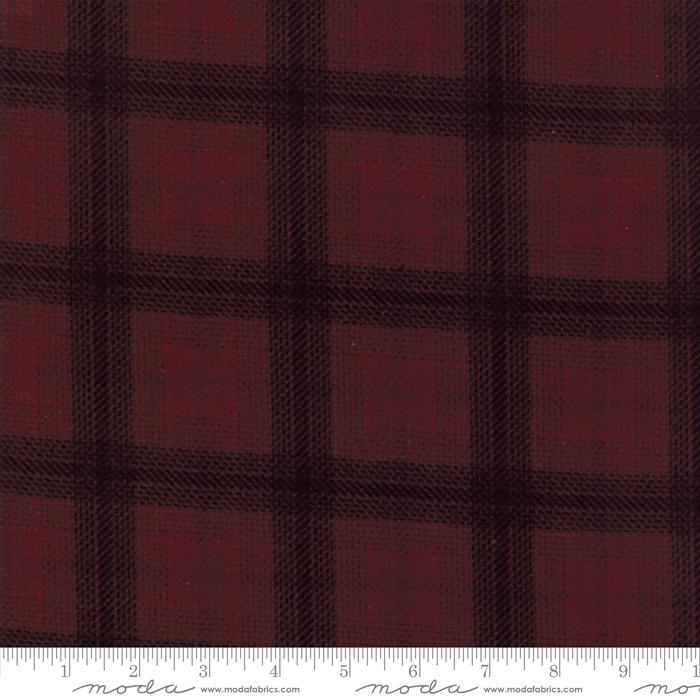 122515F Wool Needle V Wine