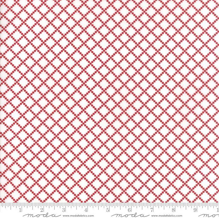 Project Red Irish Chain White Red