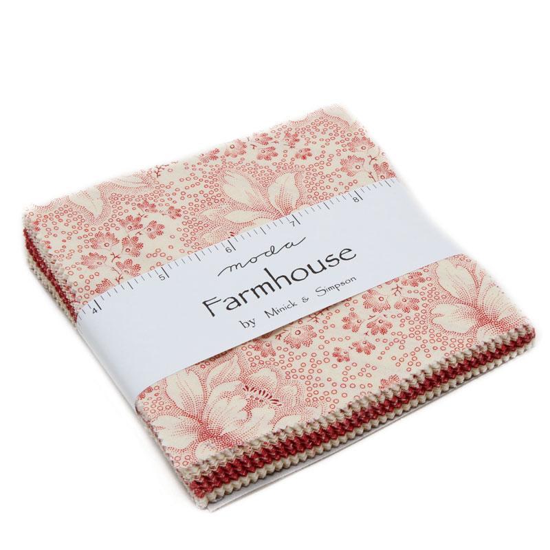 Farmhouse Reds Charm Pack