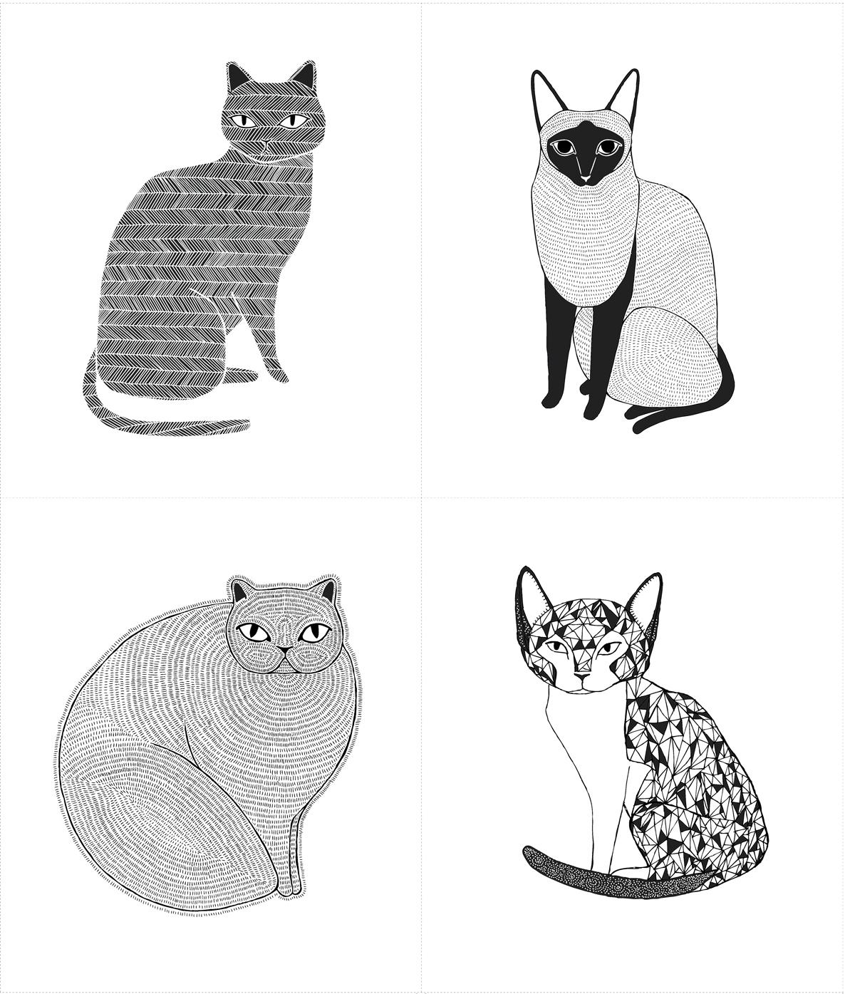 Catnip Cat Panel White