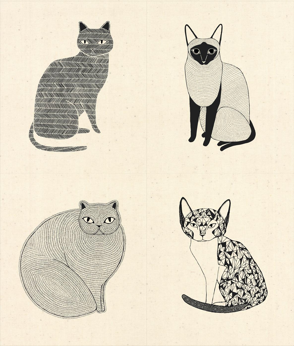 Catnip Cat Panel - Natural