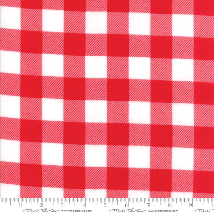 Buffalo Check Red Flannel
