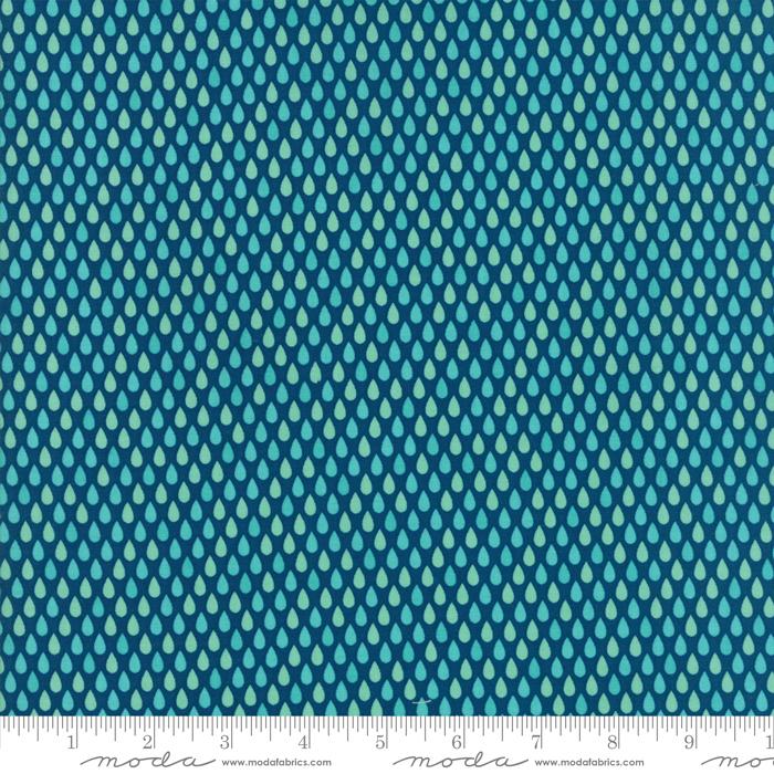 Item#11036.F - Well Said Prussian Blue - Moda - Sandy Gervais - Bolt#11036.F