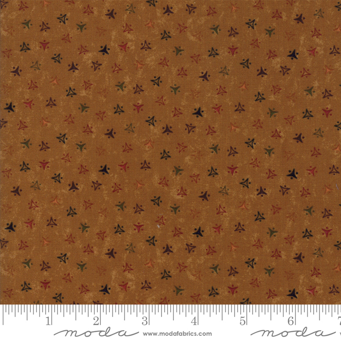 Fresh Cut Flowers Stepping Stones Gold by Kansas Troubles Quilters for Moda