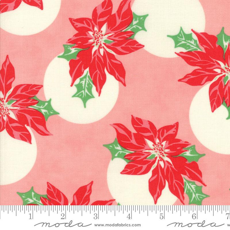 Moda Swell Christmas Pink 31121 12