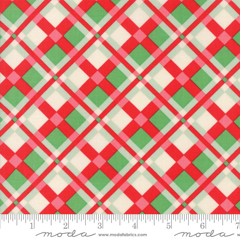 Swell Christmas Red Green Plaid
