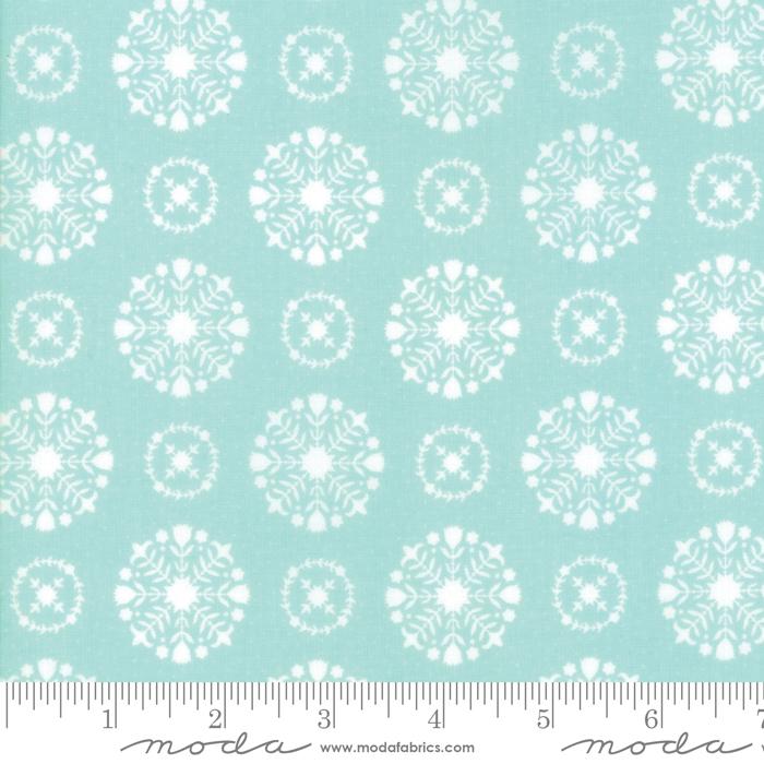 Bonnie & Camille - Vintage Holiday - Snowflakes Aqua
