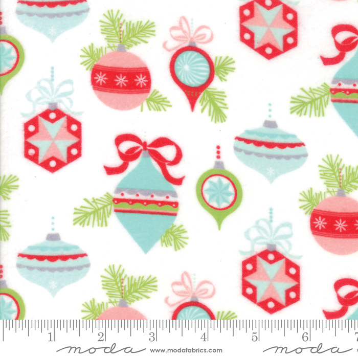 Bonnie & Camille - Vintage Holiday Flannel - Main Ivory