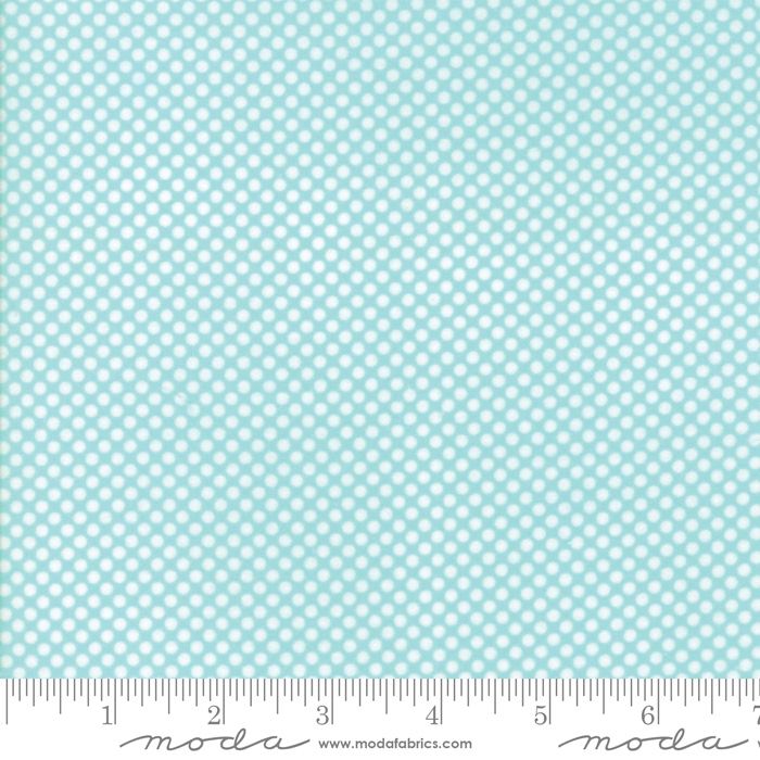 Vintage Holiday Aqua by Bonnie and Camille for Moda 55162 12F