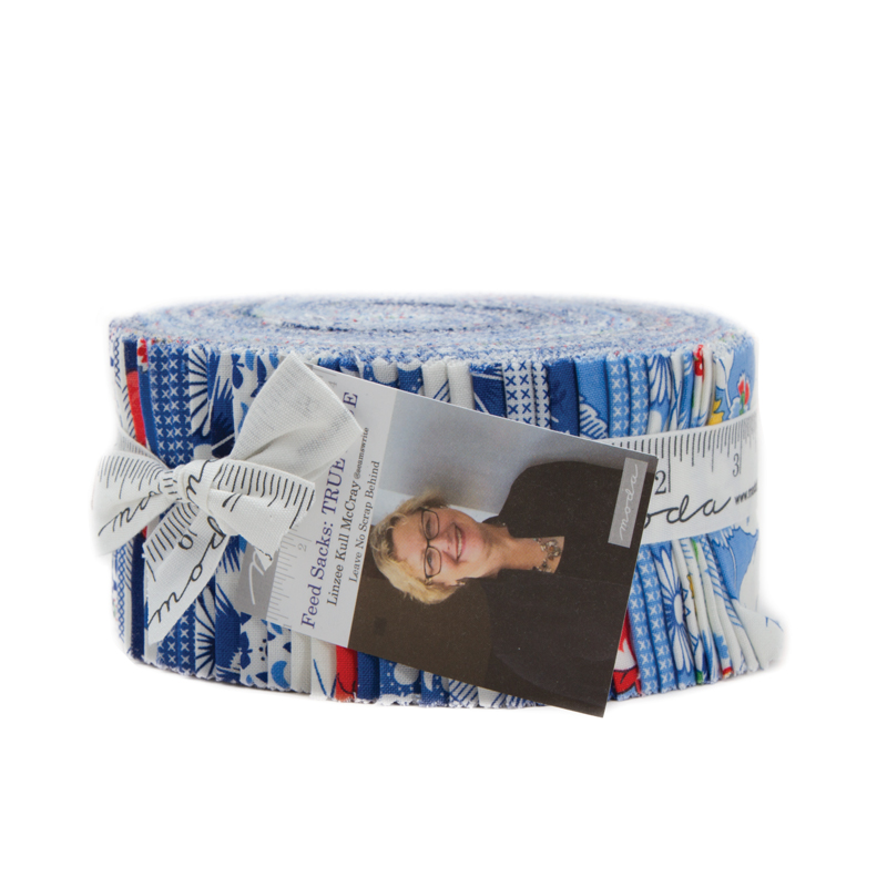 Feed Sacks True Blu Jelly Roll