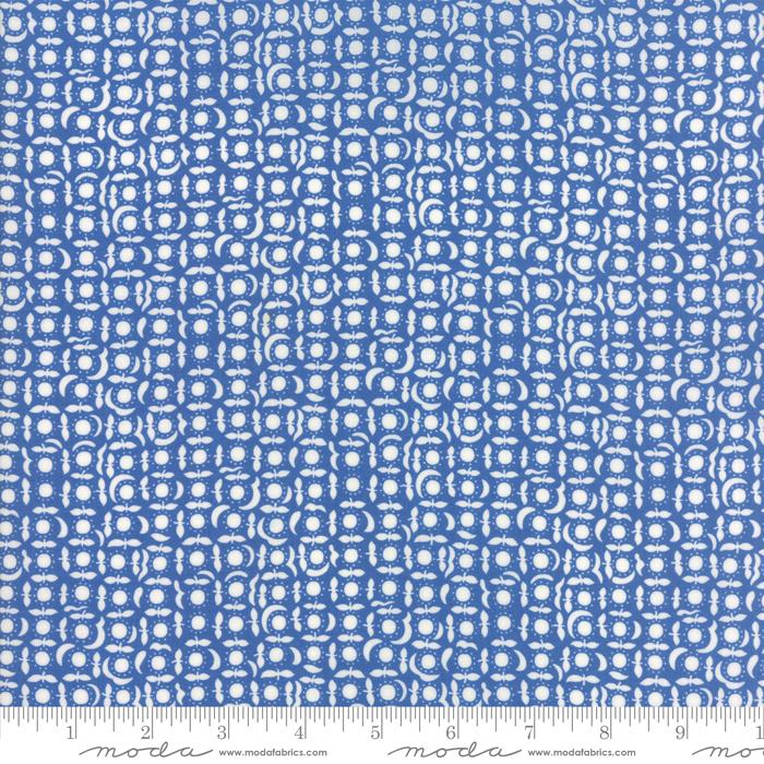 Item#11034.C - Feed Sacks True Blue Cornflower - Moda - LInzee Kull McCray - Bolt#11034.C